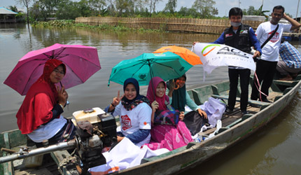 ACT's Determination to Help the People of Muara Gembong's image