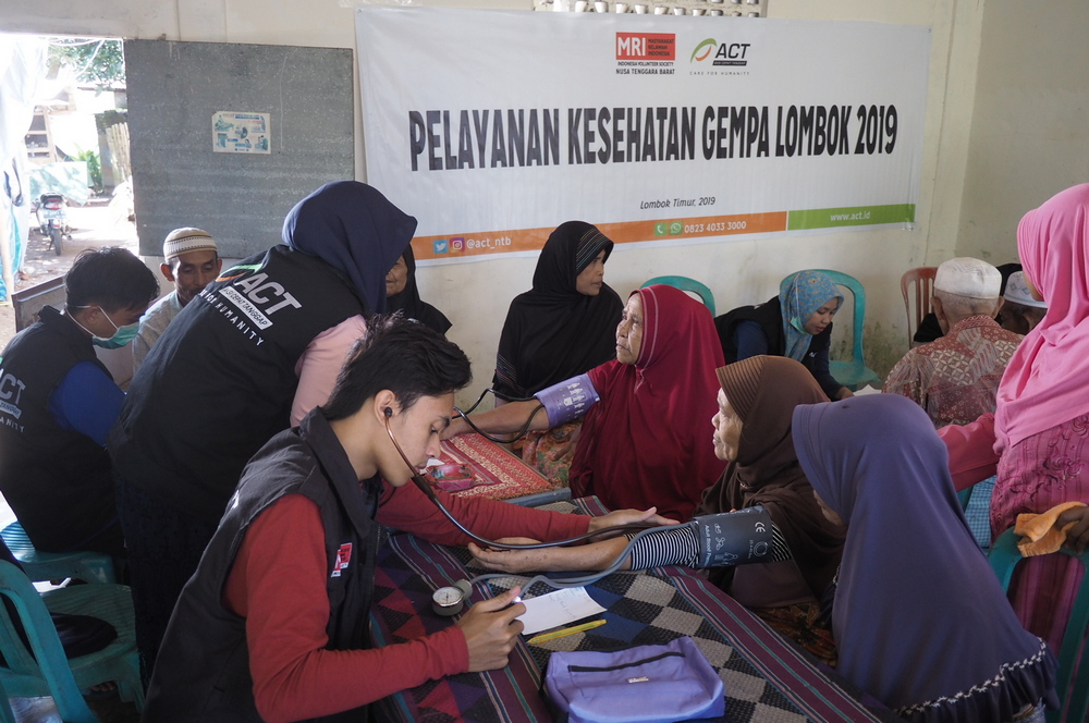 Free Medical Services For Earthquake-Hit Residents of East Lombok's image