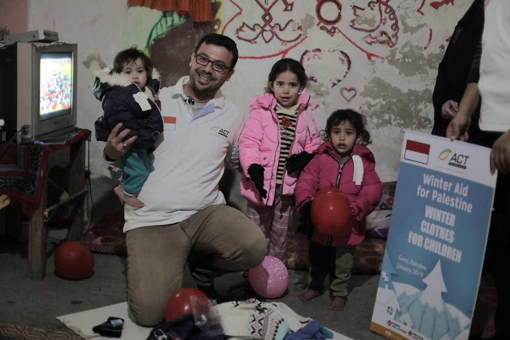 A Gift to Give Warmth to Children of Gaza's image