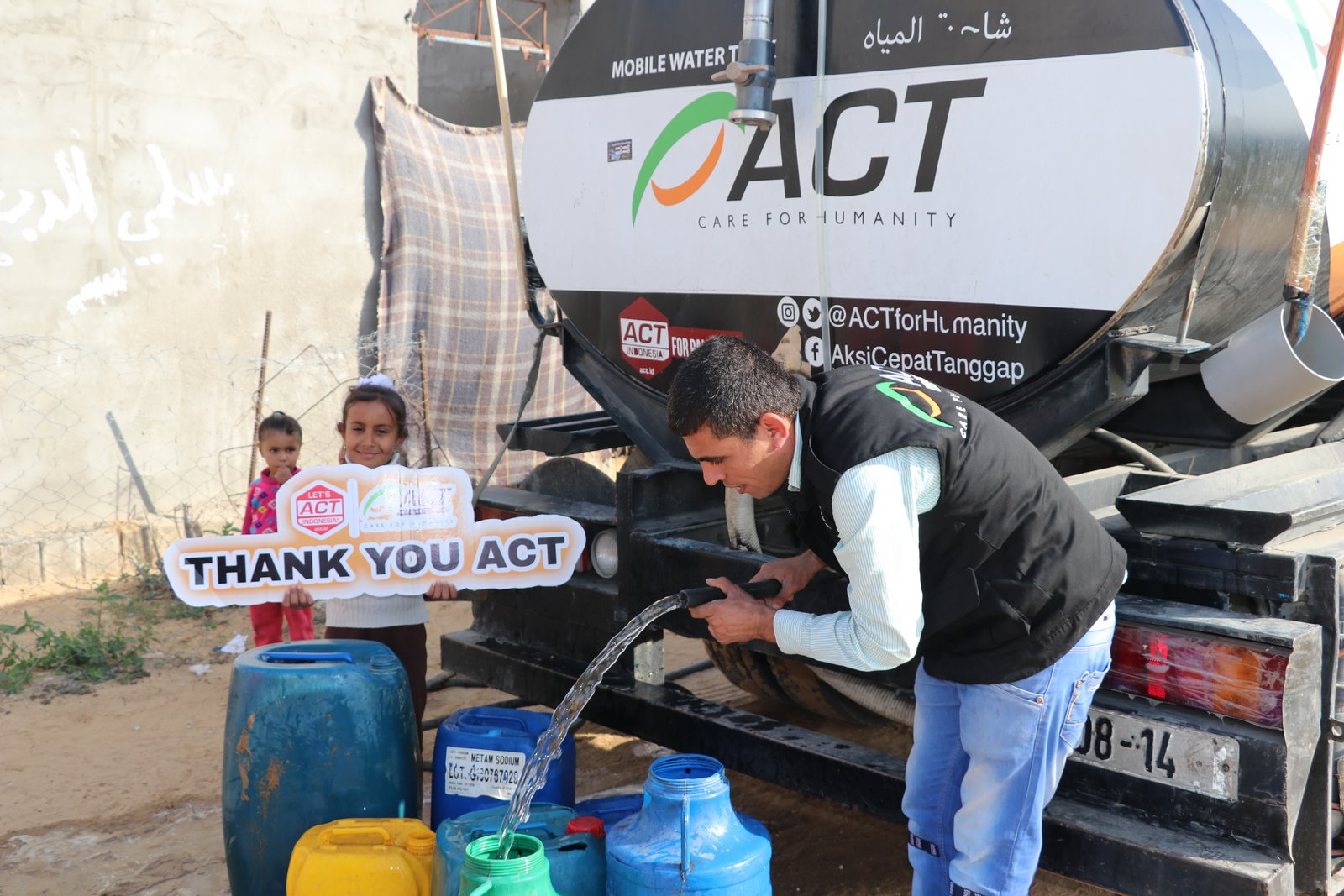 Refugees in Palestine Still Afflicted with Clean Water Crisis's image