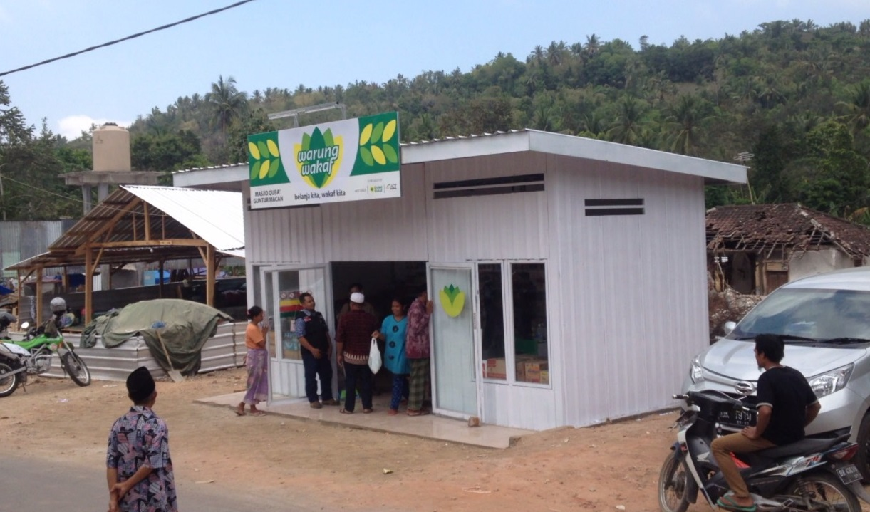 Second Waqf-based Shop Launched in Lombok
