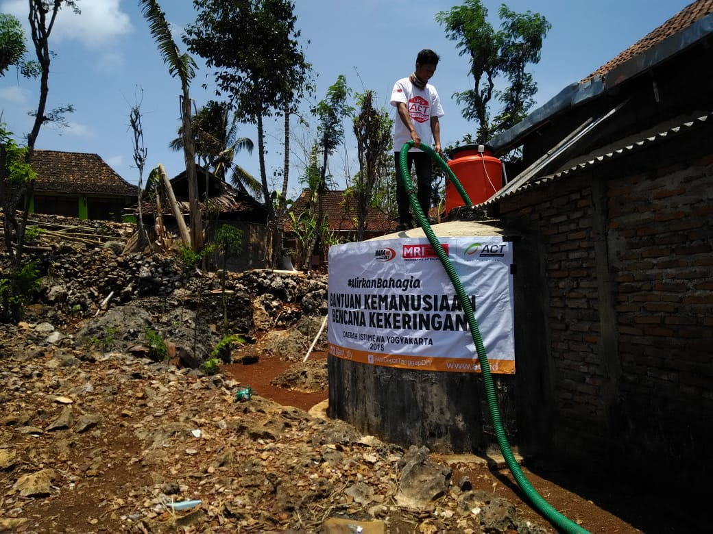 Water Crisis in Gunungkidul Despite Rainy Season's image