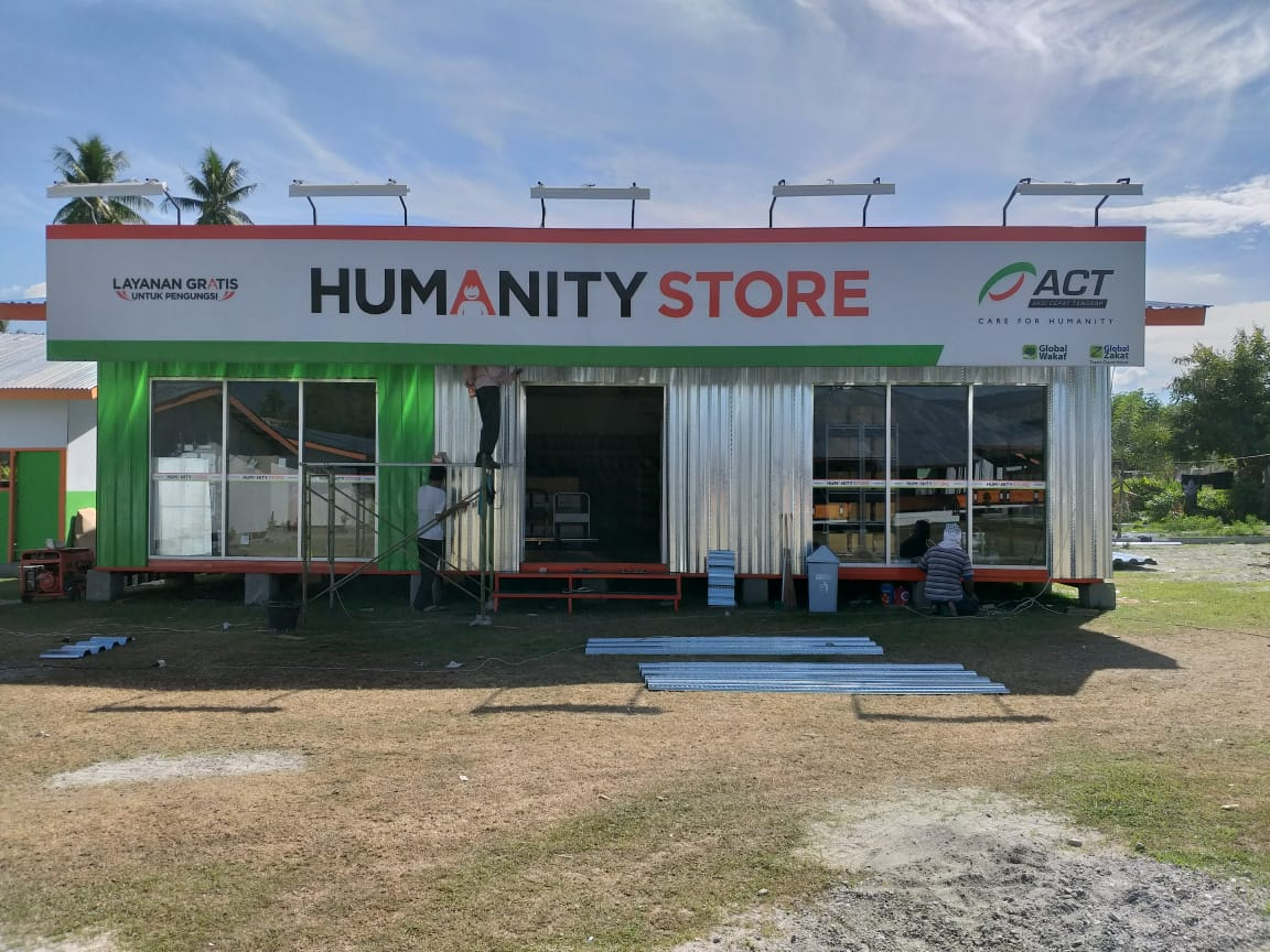 ACT Humanity Store in Sigi Ready to Operate's image
