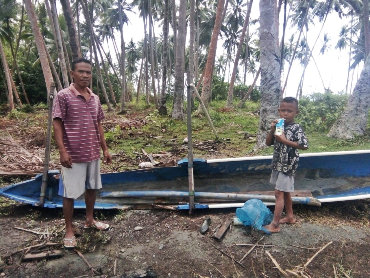 A Hope of Donggala Fishermen after Earthquake and Tsunami's image
