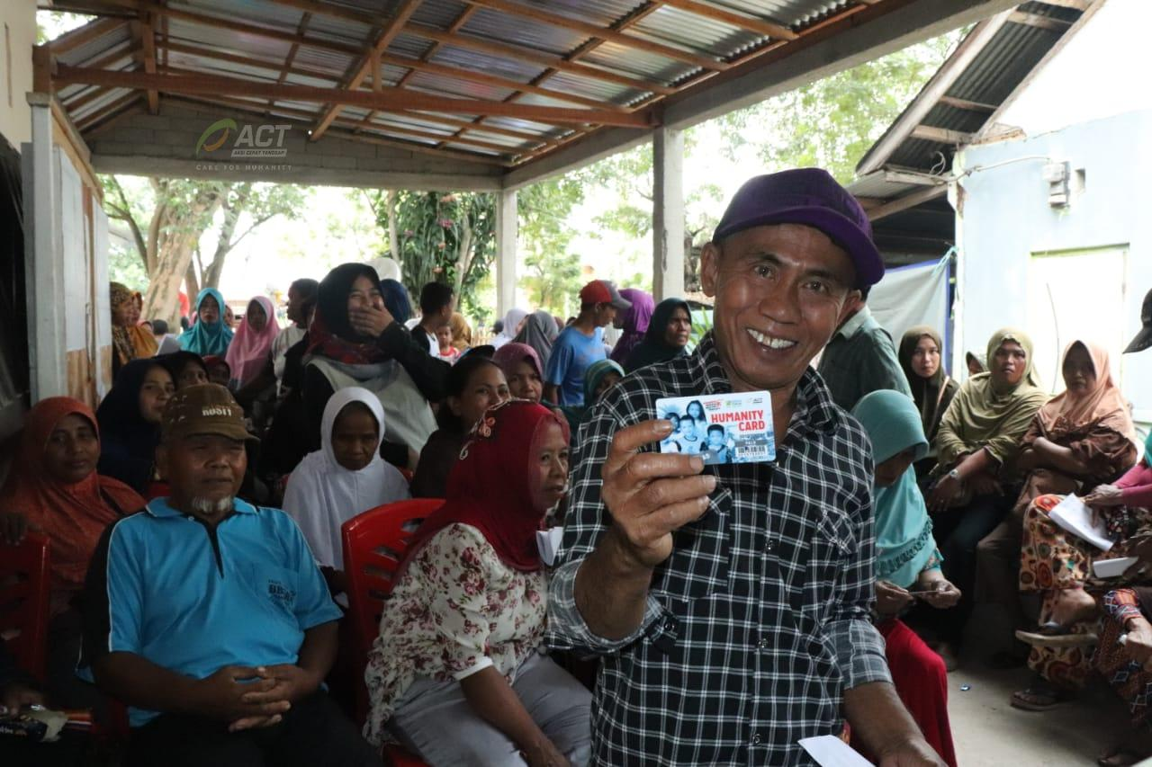 ACT Starts Distributing Humanity Cards for Sigi Residents's image