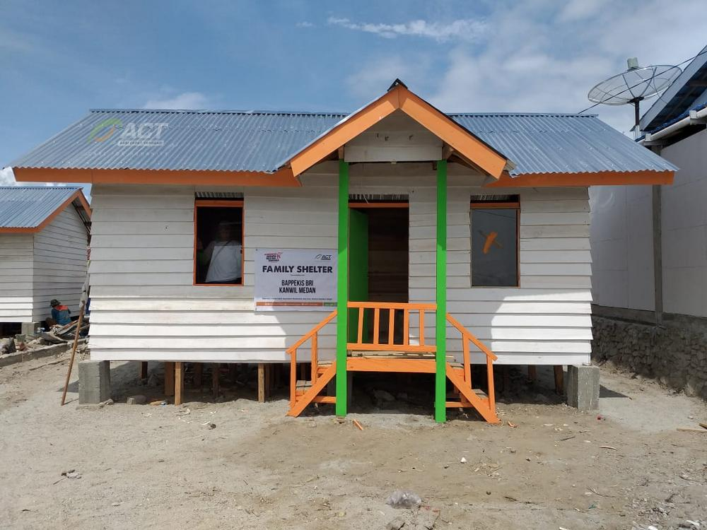 ACT Builds Family Shelters for Ten Households in Palu's image