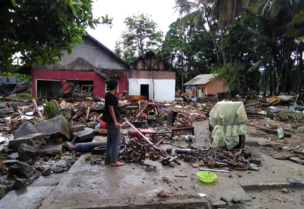 A Glimpse at Sumur Sub-District, an Area Swept Away by Tsunami's image