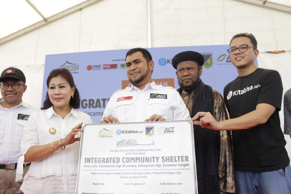 ACT Officially Launches Seven ICS Compounds for Central Sulawesi Disaster Victims's image