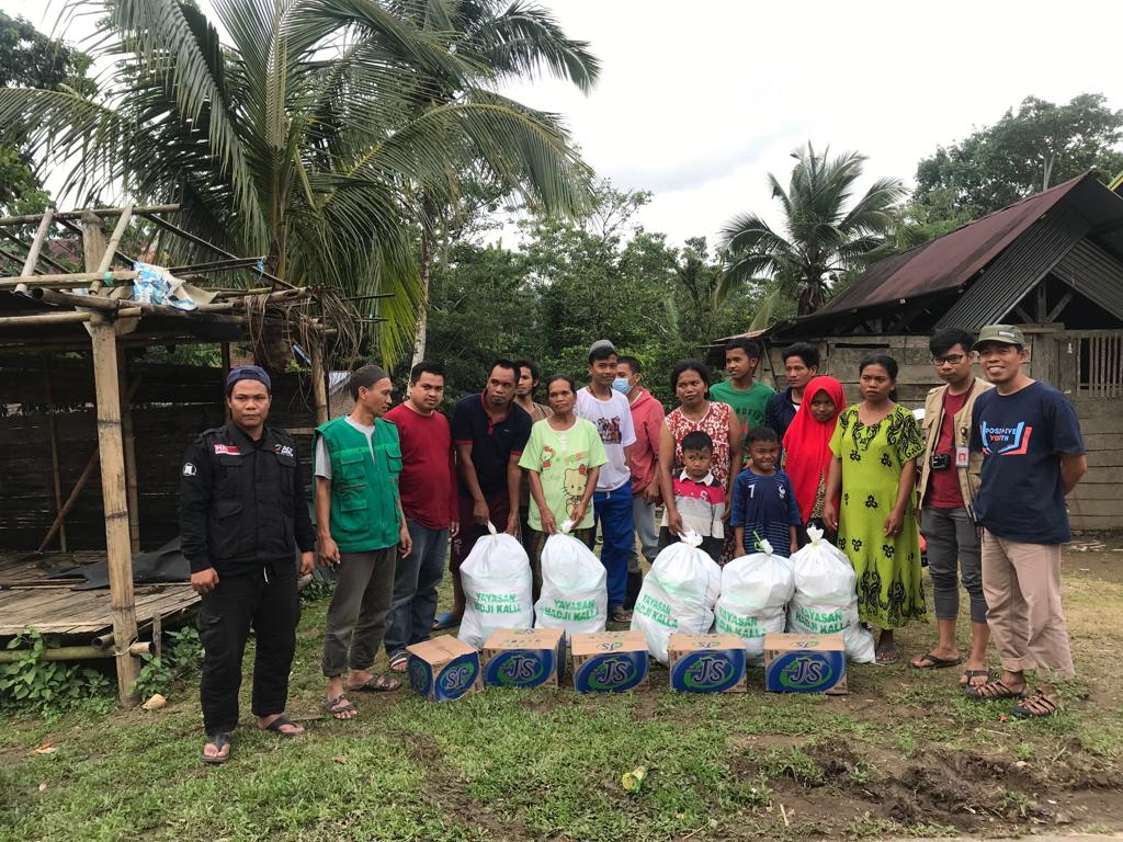 Aid Packages for Flood and Landslide Victims in Sapaya, Gowa's image