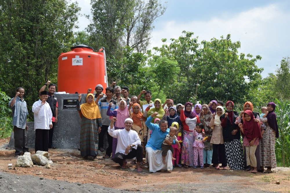Bangkan Residents Reap Benefits from Waqf Well