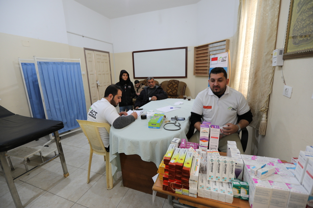ACT Medical Services for Impoverished Families in Gaza's image