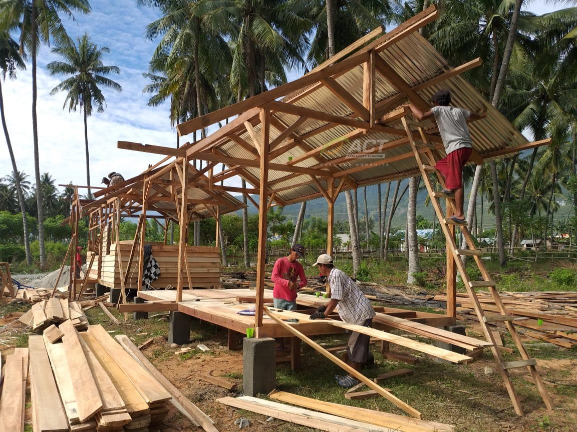 ACT Builds More Family Shelters in Palu's image