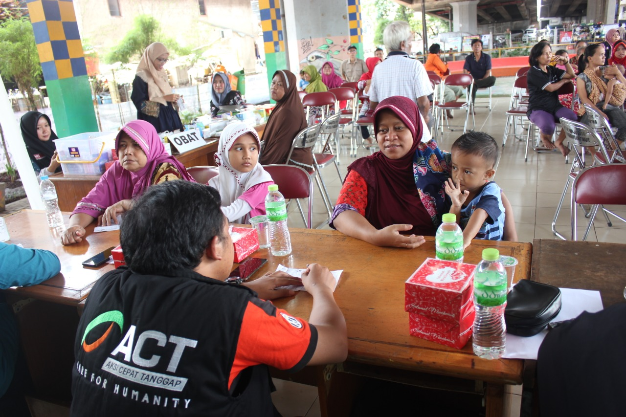 Zakat-Funded Free Medical Service for the Economically Underprivileged in Jakarta