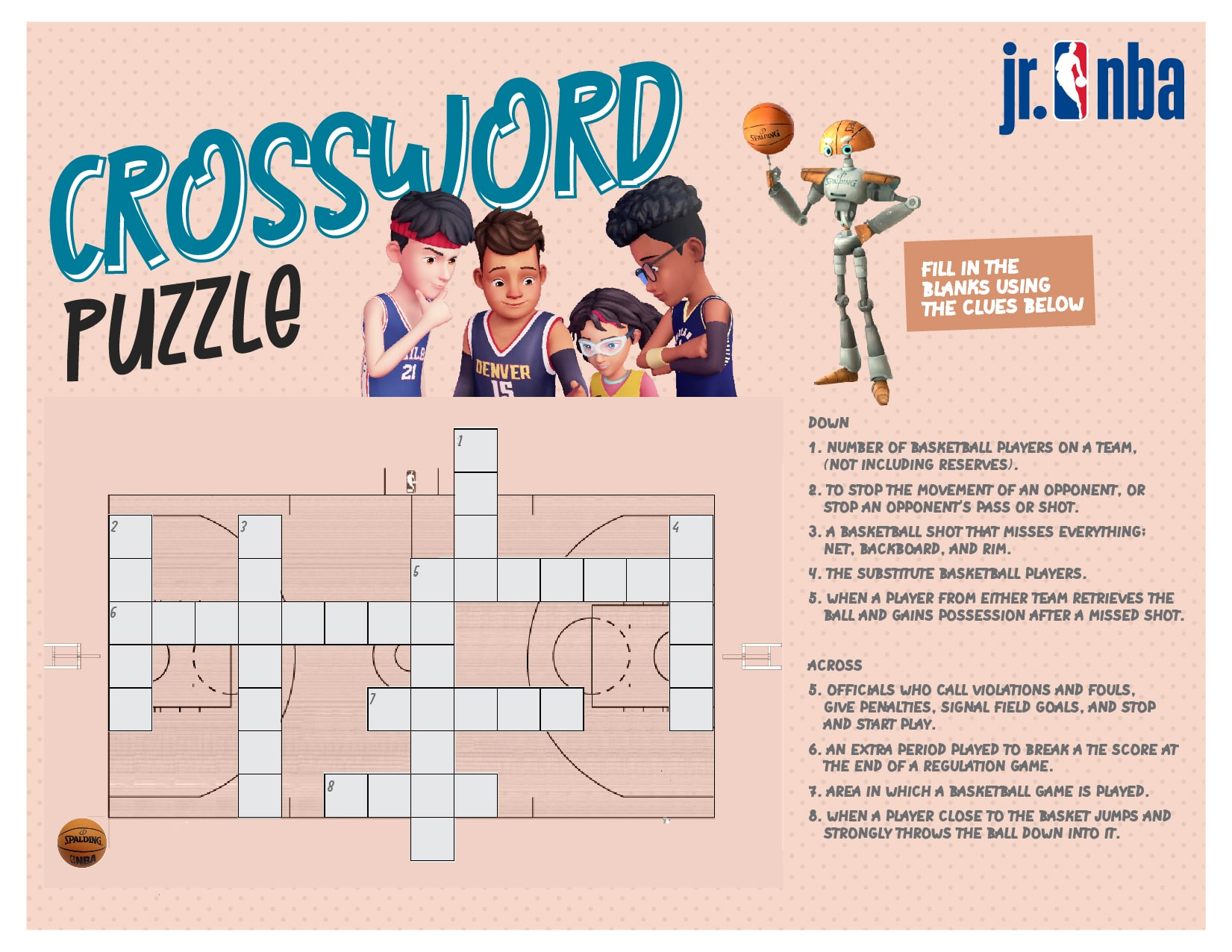 This image is for the Activity - Crossword Puzzle