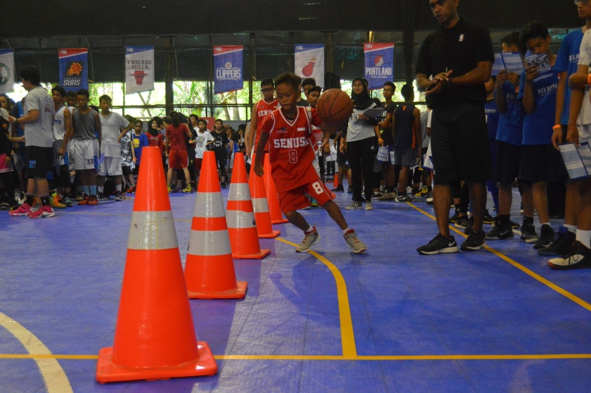 2019 Jr. NBA Indonesia School Visit With Jason Richardson