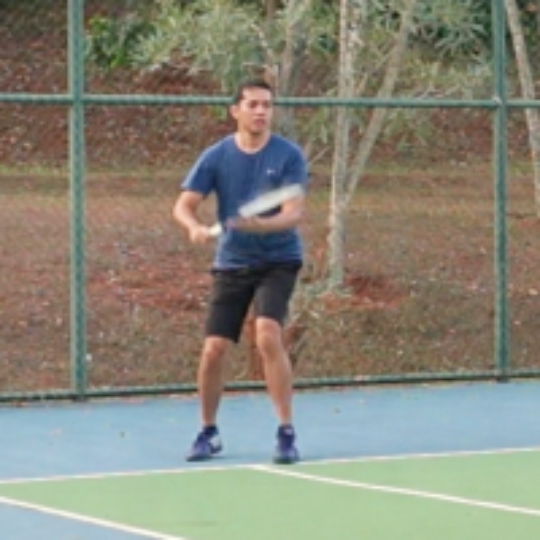 0fee319bb Play tennis with Chandra Kharisma on