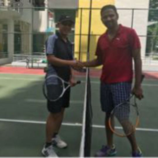 473c012aa Play tennis with Kenneth Chew on