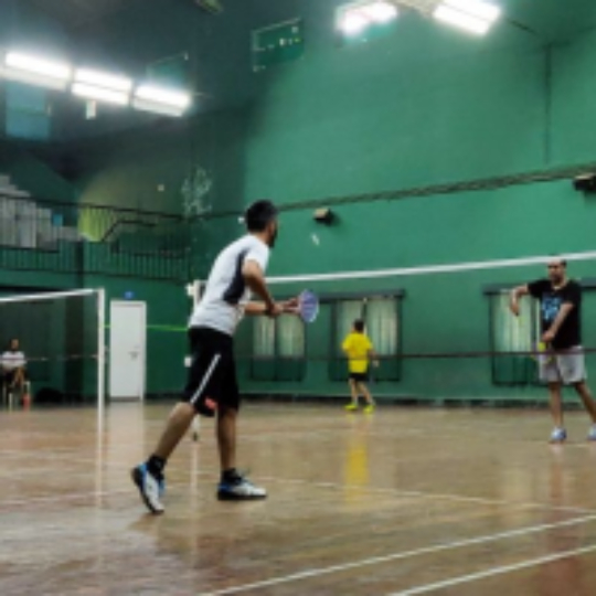 a1bbf2cfb Play badminton with Krishna Toshniwal on