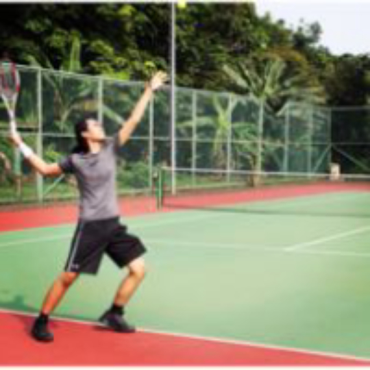 e17aa1552 Play tennis with Arya Suradinata on