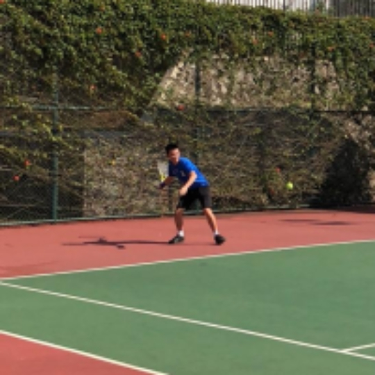 a5546f61236cf Play tennis with Dani Hajadi on