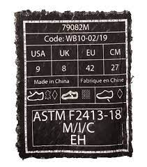 Tiêu Chuẩn ASTM F2413 Trên Giày Bảo Hộ Và Những Điều Bạn Cần Biết