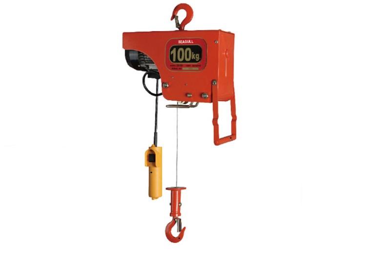 So sánh tời điện tải trọng từ 100 - 2000kg