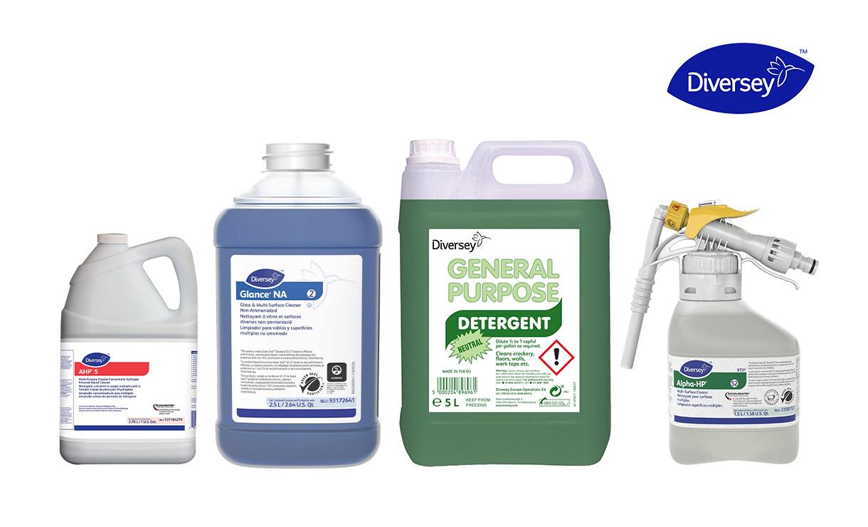 Hóa chất vệ sinh công nghiệp - Diversey