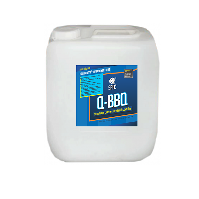 Tẩy cặn carbon cháy Q BBQ - Can 20L