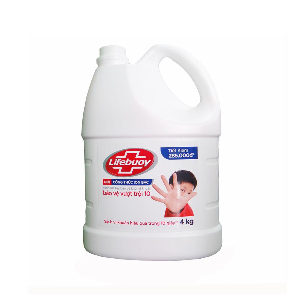 Nước rửa tay Lifebuoy 4kg