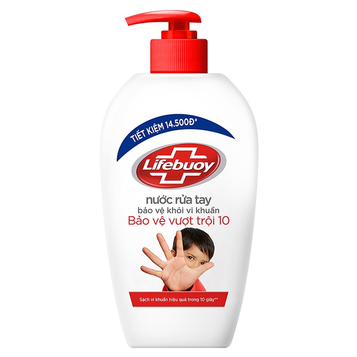 Nước rửa tay Lifebouy 500ml