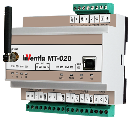 MT-020-Mô-đun SMS / GPRS / e-mail cho các ứng dụng giám sát, cảnh báo và điều khiển từ xa