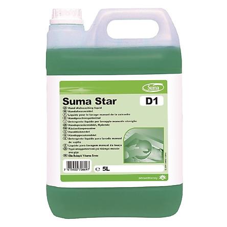 Dung dịch rửa chén bằng tay SUMA STAR D1
