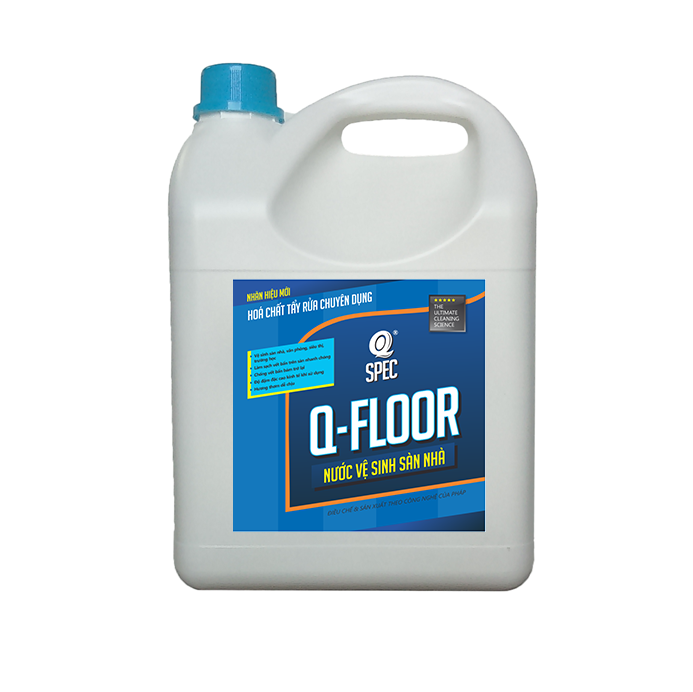 Nước lau sàn Q FLOOR - Can 4L