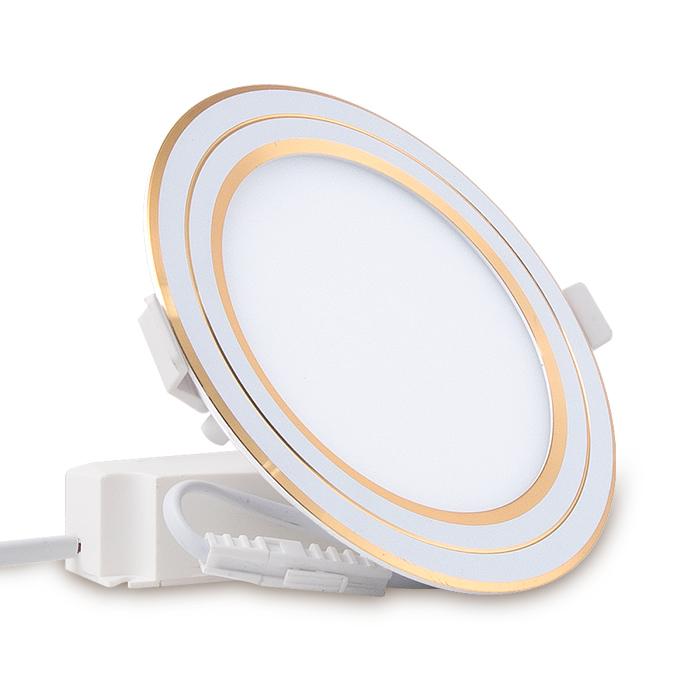 Đèn LED Panel Tròn Đổi màu 110/6W