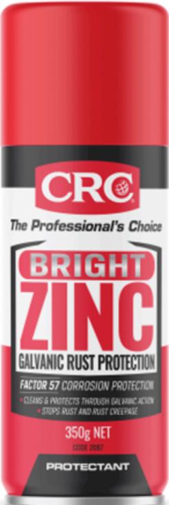 Bình xịt sơn mã kẽm CRC BRIGHT ZINC Code: 2087