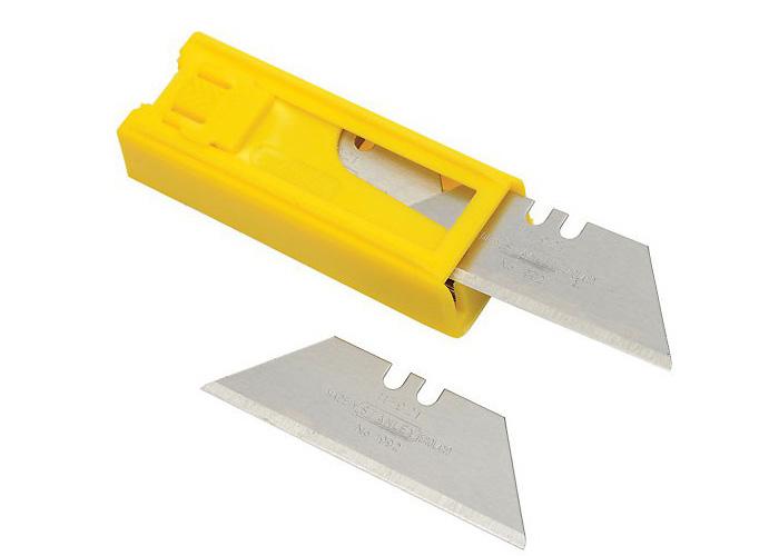 Lưỡi dao rọc thẳng 19x62mm Stanley 11-921T
