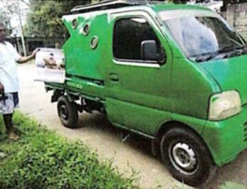 SUZUKI MULTI-CAB PICK-UP TYPE WITH CANOPY