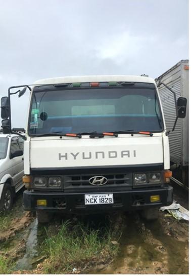 Hyundai 10W Dump Truck