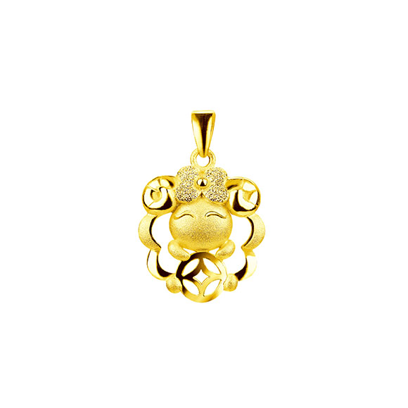 Growing Influence Gold Pendant