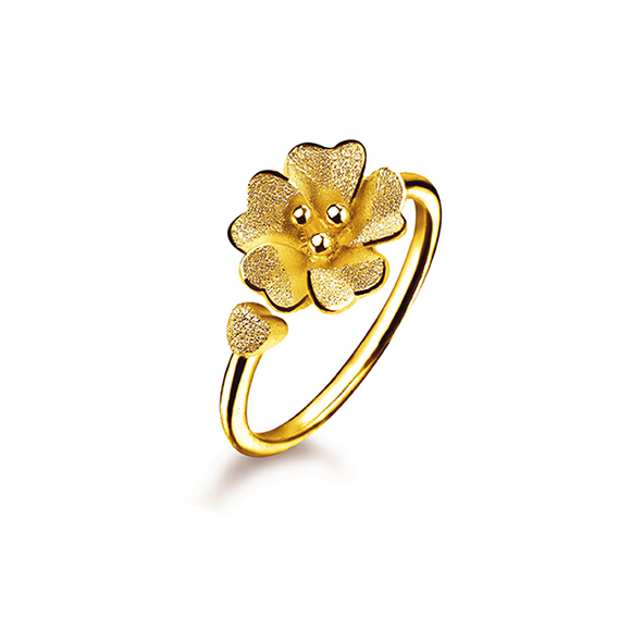 Floral Gold Ring