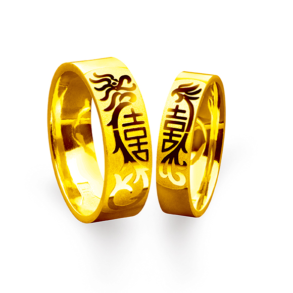 Beloved Collection Match Your Pair of Wedding Rings collection「龍鳳報囍」Rings
