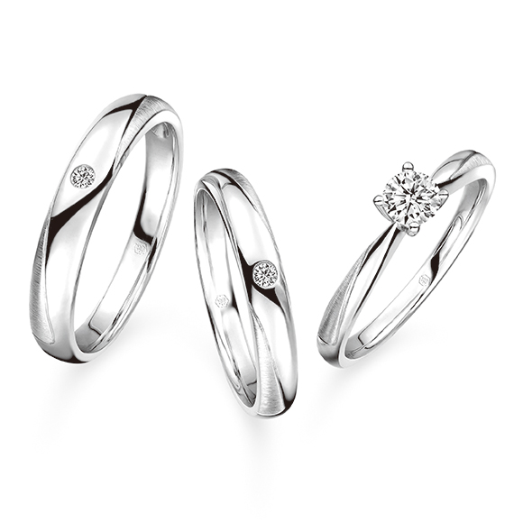 Wedding Collection Match Your Pair of Wedding Rings collection「緣伴一生」Set Rings