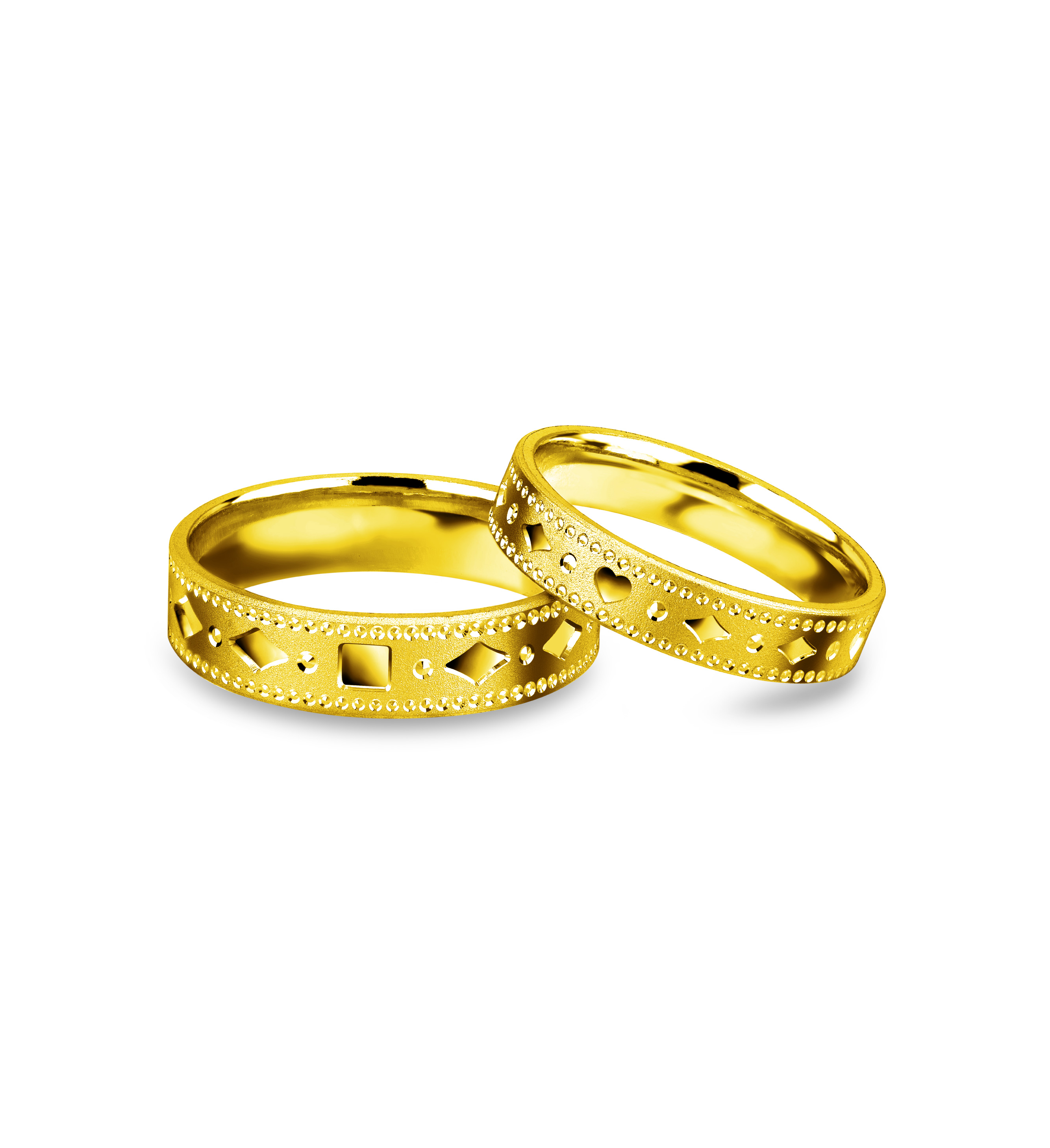 Beloved Collection Romantic Memory Rings