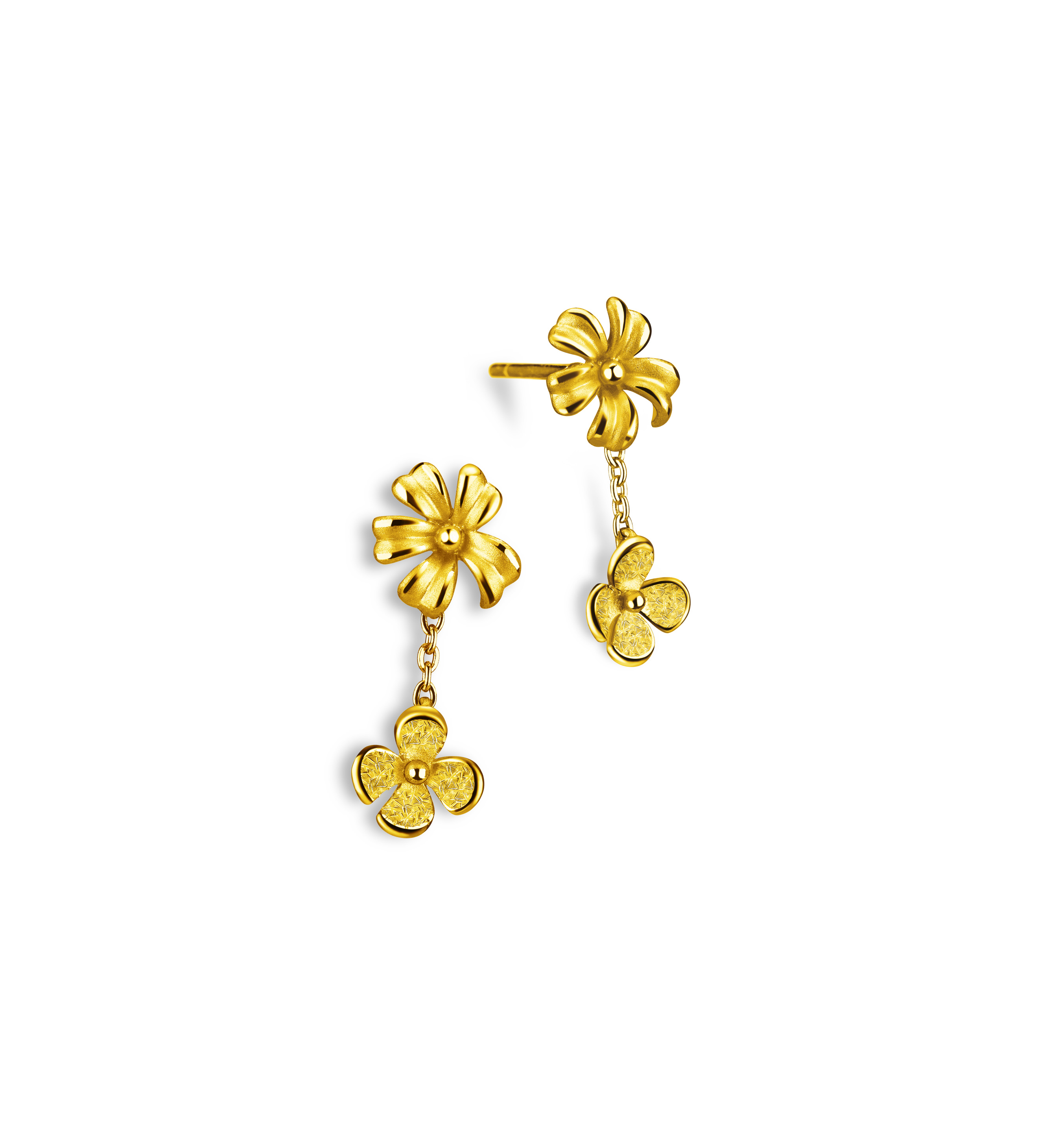 Beloved Collection Floral Love Earrings