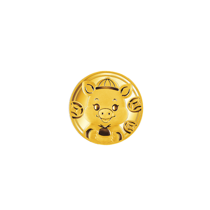 Gold Coin for the Year of the Pig -