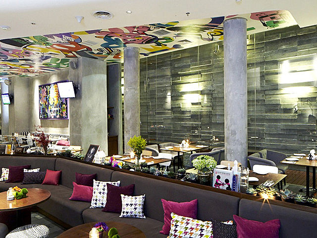 Beautifully decorated indoor event space at ROCA, ARTOTEL Thamrin - Jakarta