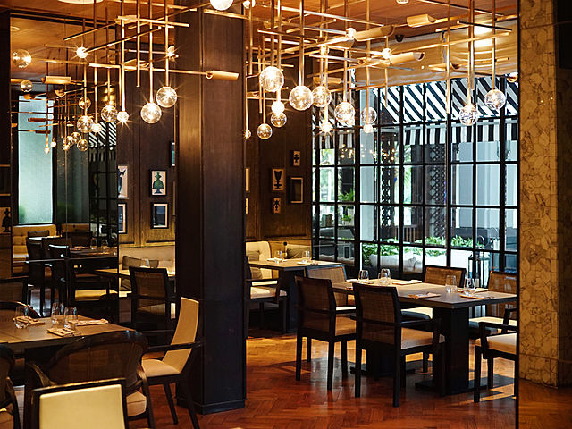 Huge and spacious event venue at Cassis Kitchen