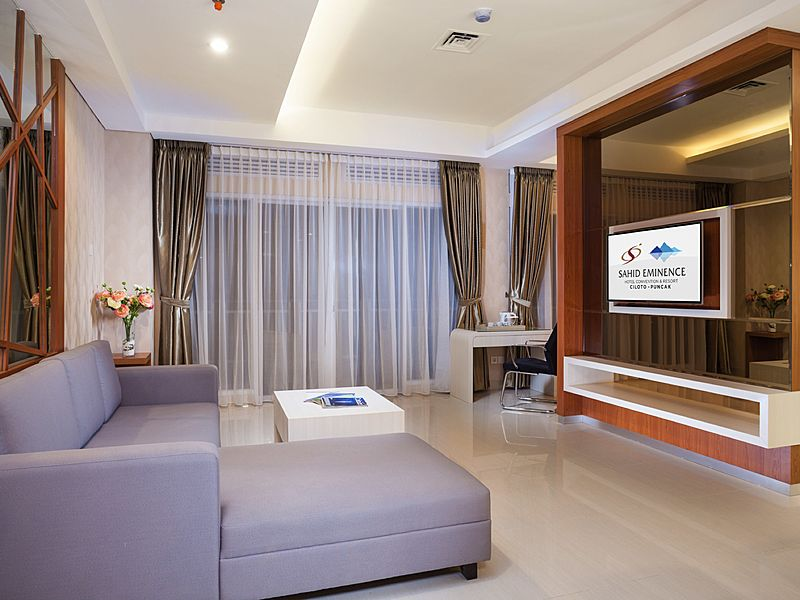 Cosy and modern indoor event venue at Sahid Eminence Hotel Convention and Resort