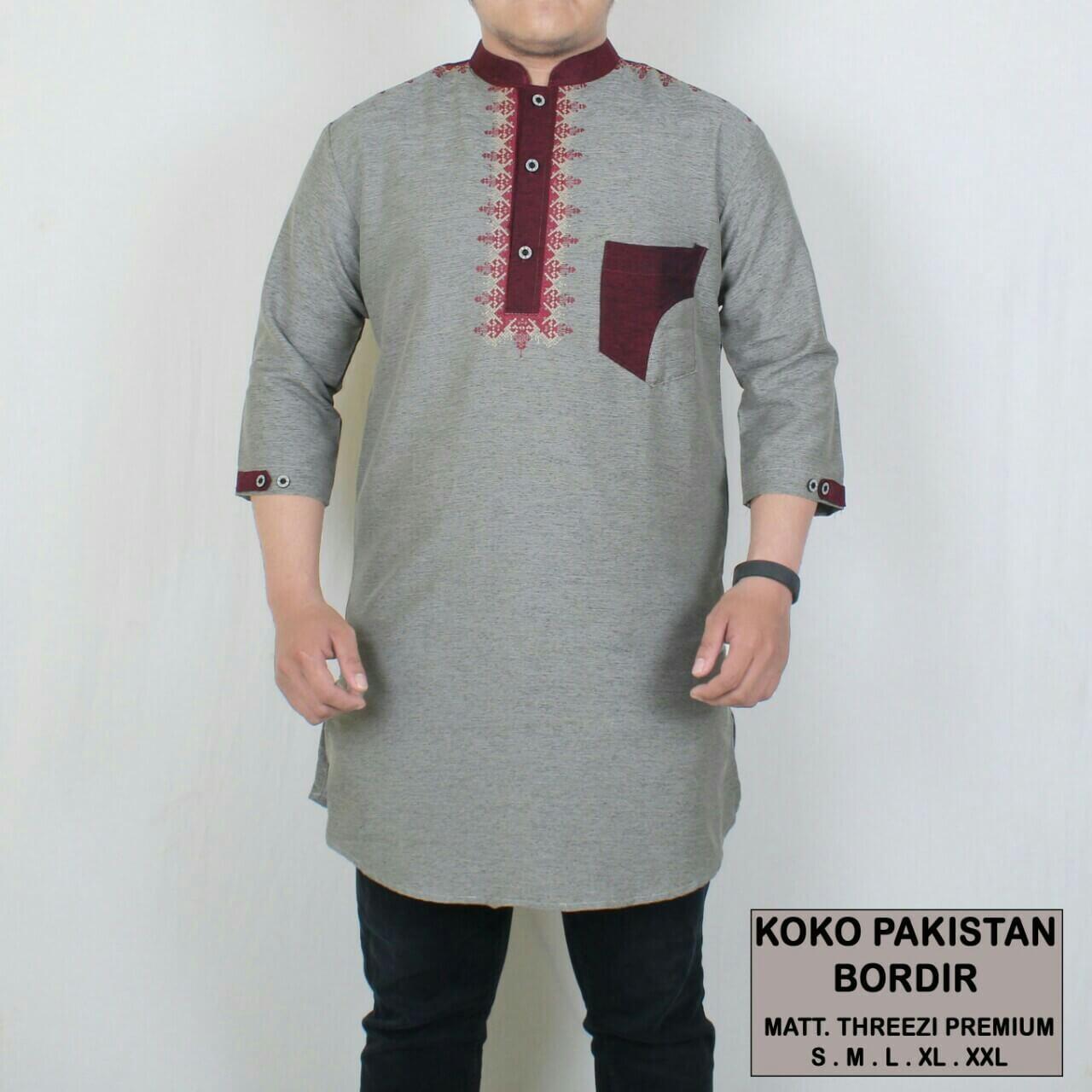 Krinkz Store - Kurta Pria / Baju Koko Pakistan (Ready Big Size) - QPB 01