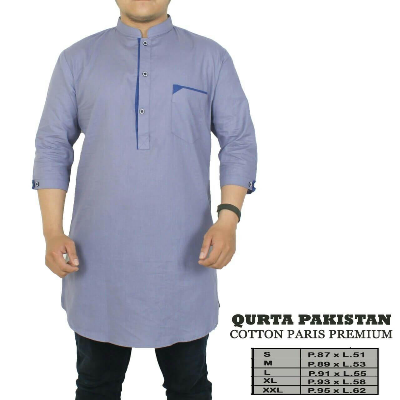 Krinkz Store - Kurta Pria / Baju Koko Pakistan (Ready Big Size) - QPC 01